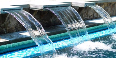 water feature and waterfall design and construction maryland