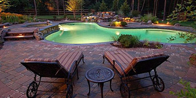 pool construction and design