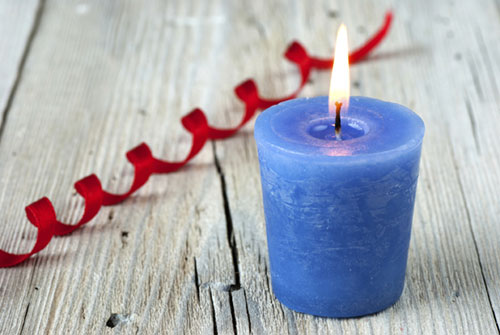 blue-candle